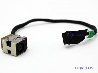 Power Jack Connector DC IN Cable 678222-FD1 678222-SD1 678222-TD1 678222-YD1 for HP Repair Replacement
