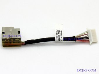 L01952-001 DC Jack IN Power Connector Cable DC-IN for HP Probook 450 455 470 G5 Notebook PC