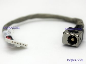 DC Jack Cable for MSI GS70 GS72 6QE MS-1775 MS1775 Power Connector Port Replacement