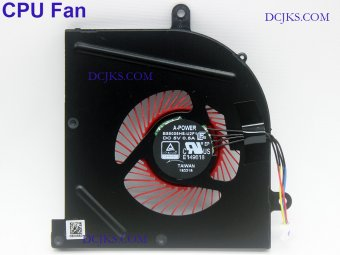 CPU GPU Fan for MSI GS73 GS73VR 6RF 7RE 7RF 7RG MS-17B1 MS-17B3 MS-17B4