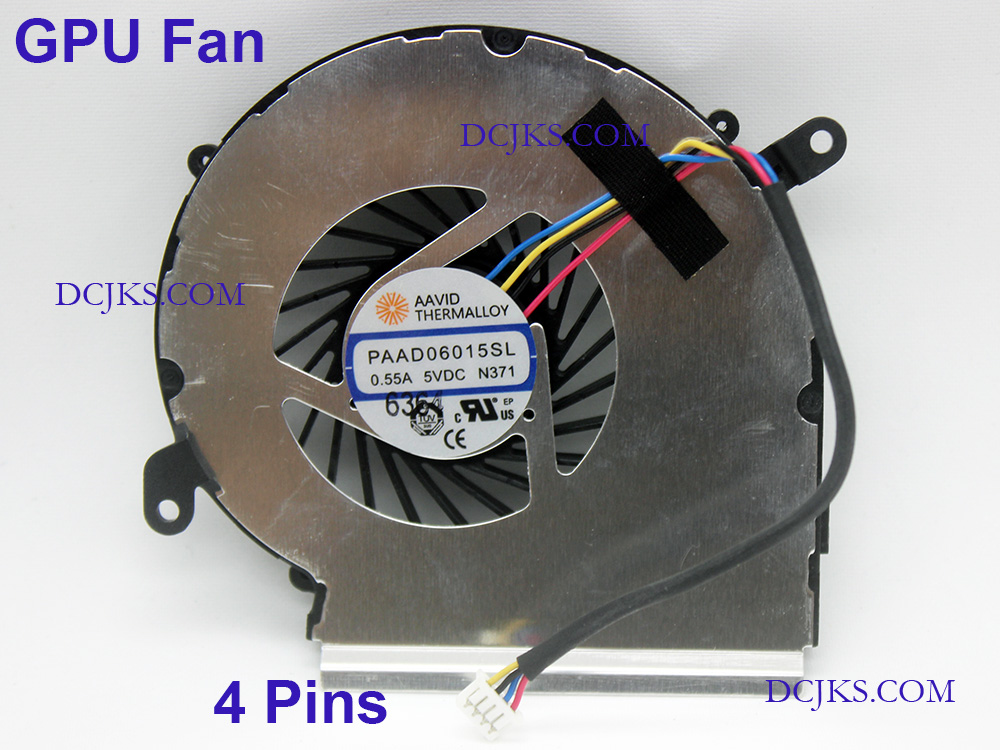 NEW CPU /& GPU Cooling Fan for MSI GV62 8RD GV62 8RC GV62 7RE US Shipping